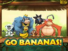 Автомат зеркала казино Бананы, Вперед!